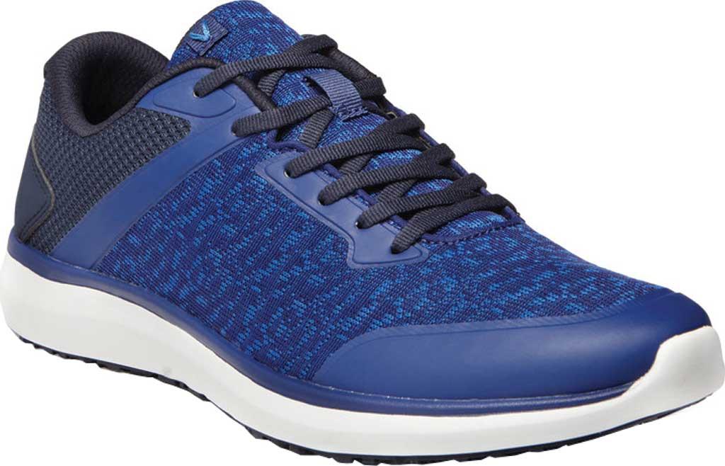 Men's Vionic Landon Sneaker, Navy Mesh/Manmade, large, image 1