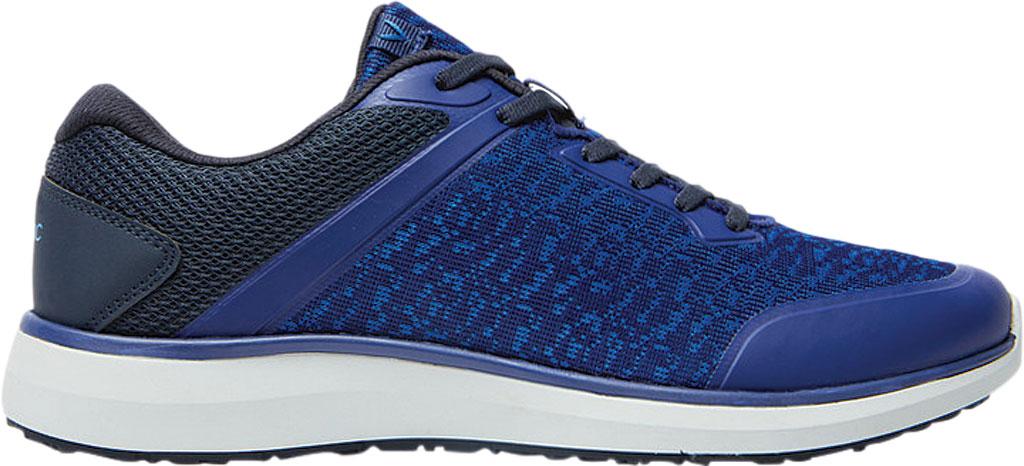 Men's Vionic Landon Sneaker, Navy Mesh/Manmade, large, image 2