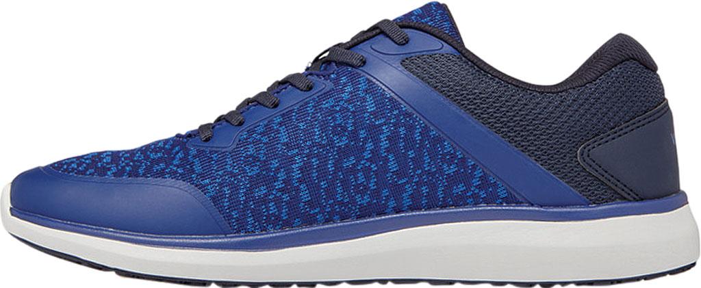 Men's Vionic Landon Sneaker, Navy Mesh/Manmade, large, image 3