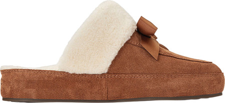 Women's Vionic Nessie Slipper, Toffee Suede/Textile, large, image 2