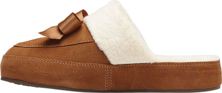 Women's Vionic Nessie Slipper, Toffee Suede/Textile, large, image 3