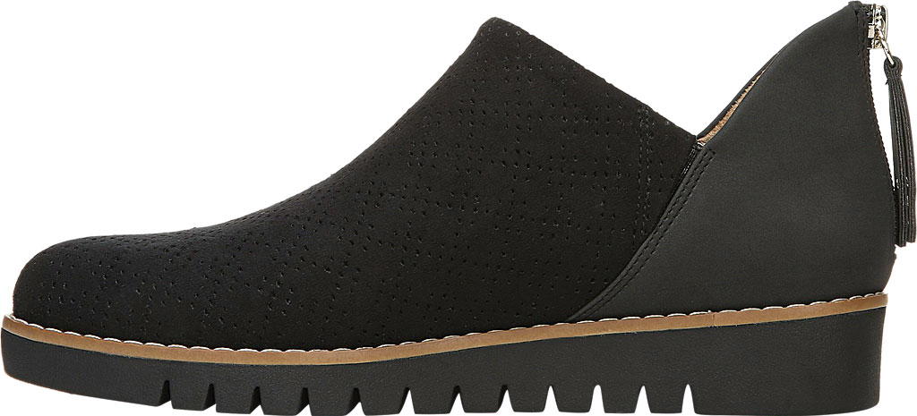Women's Dr. Scholl's Insane Ankle Boot, Black Microsuede, large, image 3