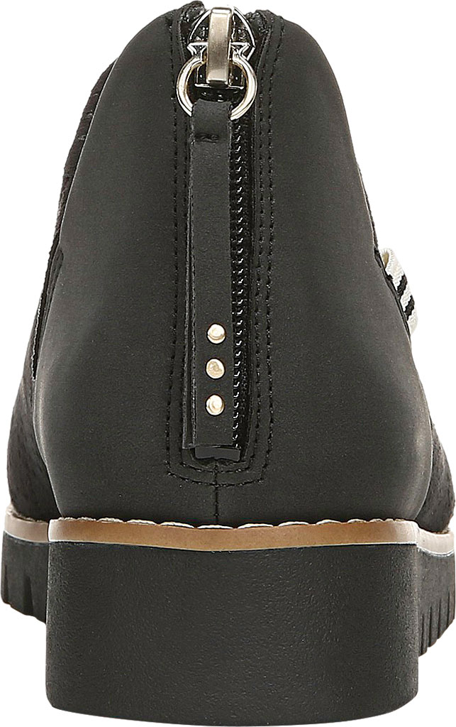 Women's Dr. Scholl's Insane Ankle Boot, Black Microsuede, large, image 4