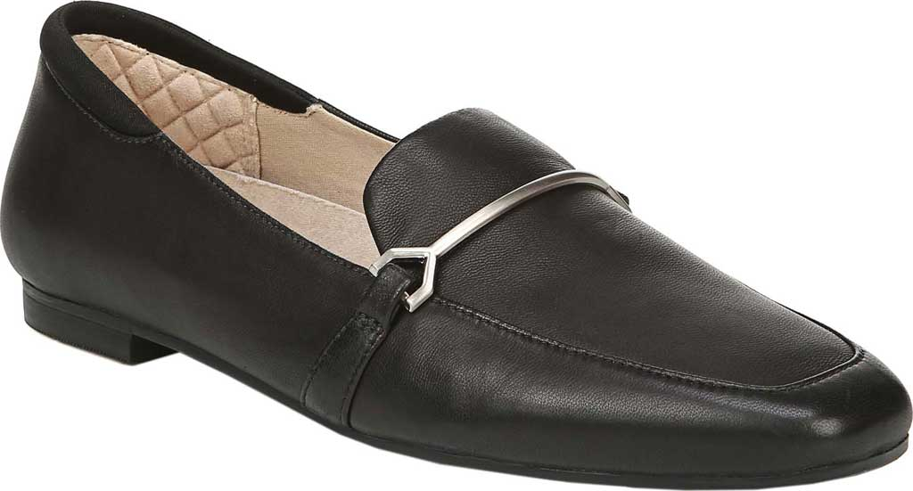 Women's Dr. Scholl's Original Collection Mercury Loafer, Black Leather, large, image 1