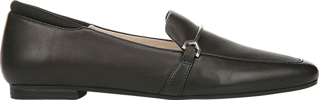 Women's Dr. Scholl's Original Collection Mercury Loafer, Black Leather, large, image 2