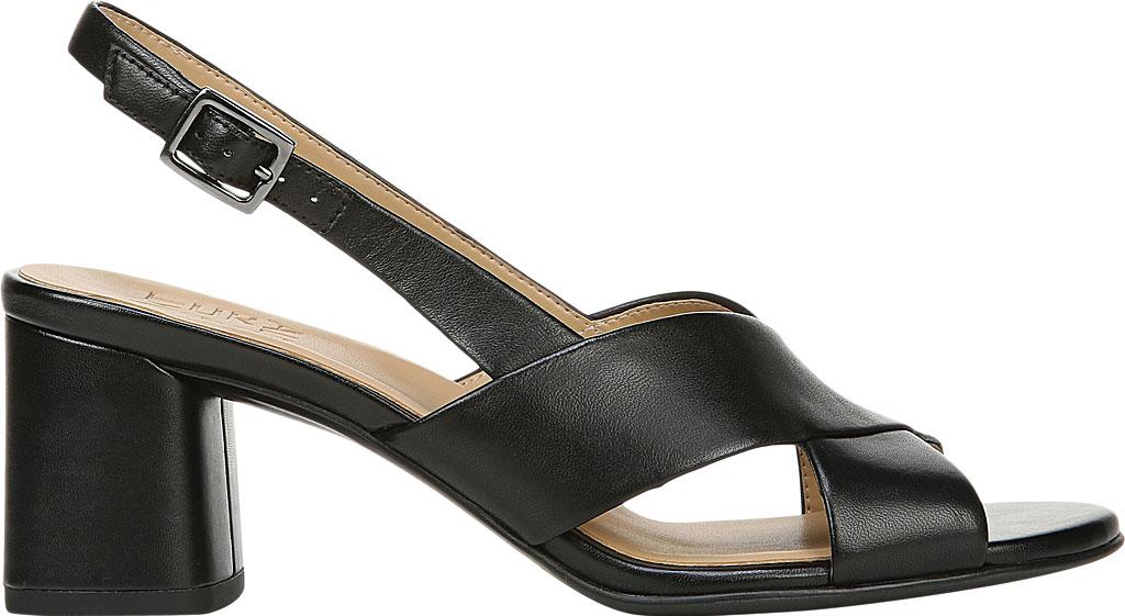 Women's Naturalizer Azalea Slingback Sandal, Black Leather, large, image 2