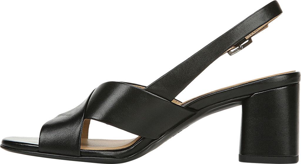 Women's Naturalizer Azalea Slingback Sandal, Black Leather, large, image 3