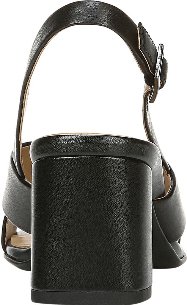 Women's Naturalizer Azalea Slingback Sandal, Black Leather, large, image 4