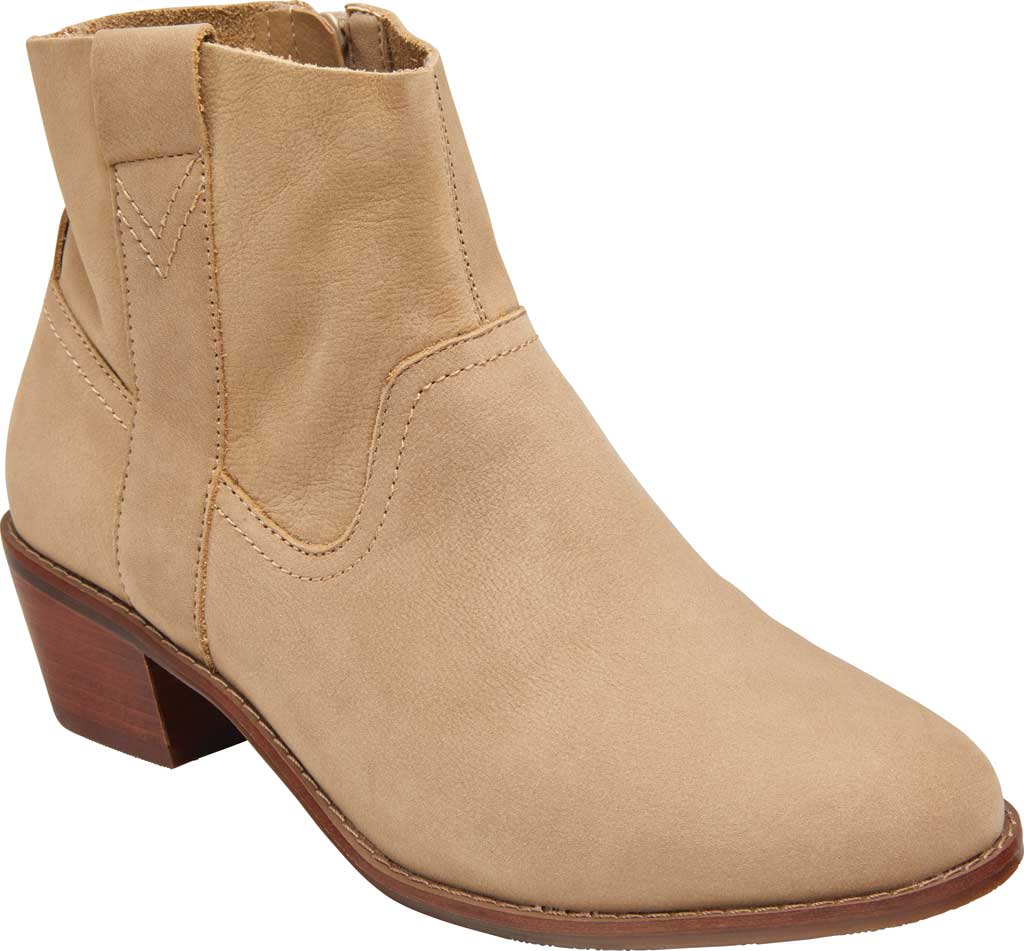 Women's Vionic Roselyn Ankle Boot, Wheat Nubuck, large, image 1