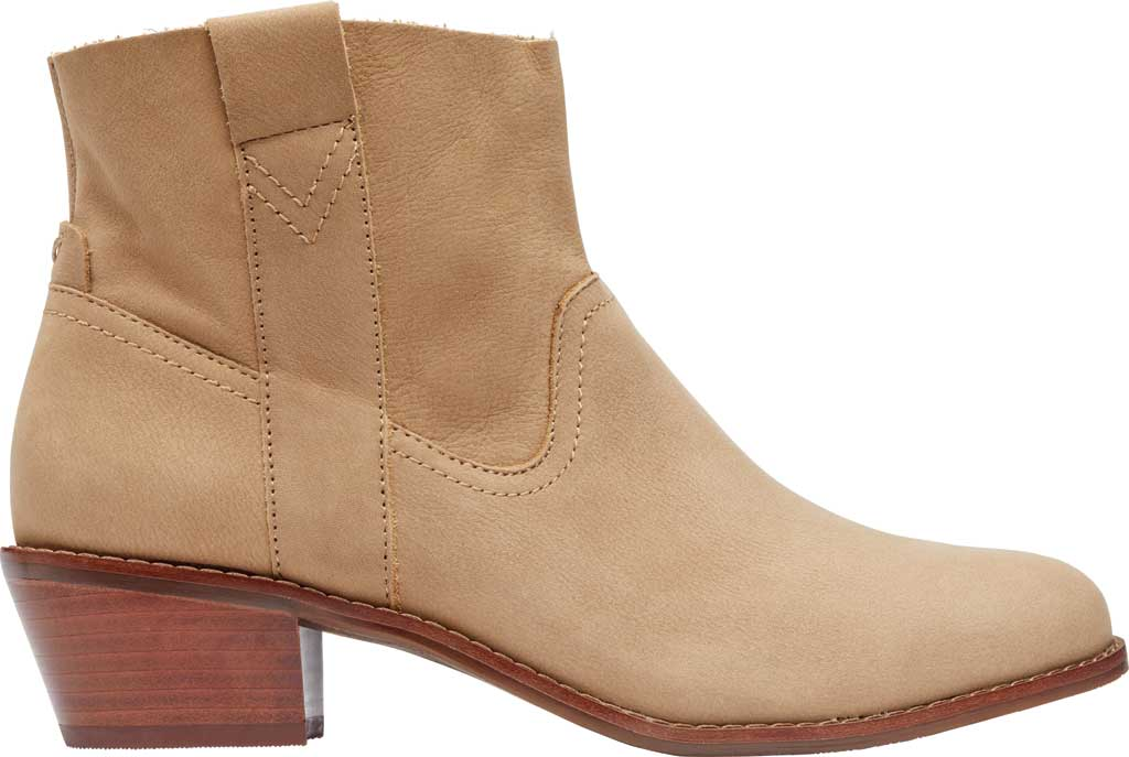 Women's Vionic Roselyn Ankle Boot, Wheat Nubuck, large, image 2