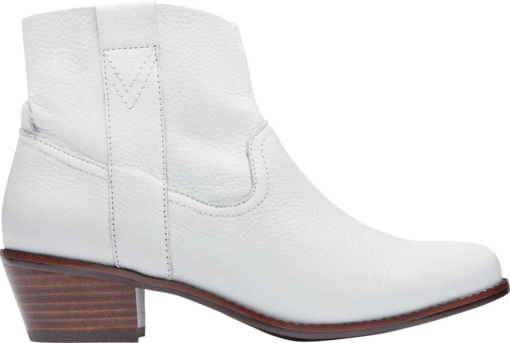 Women's Vionic Roselyn Ankle Boot, Tumbled White Leather, large, image 2