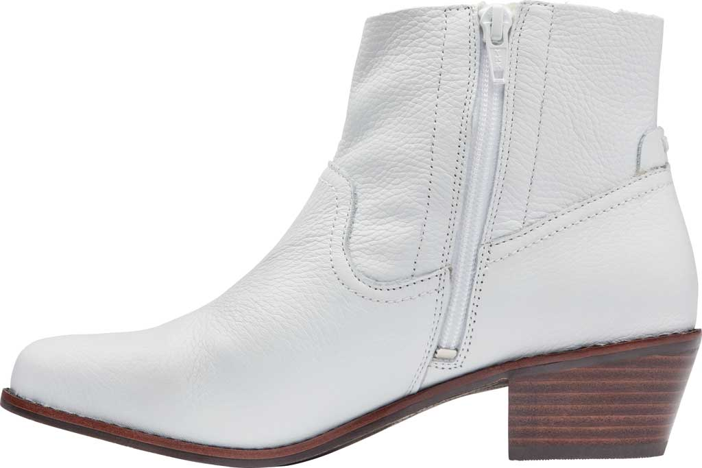 Women's Vionic Roselyn Ankle Boot, Tumbled White Leather, large, image 3