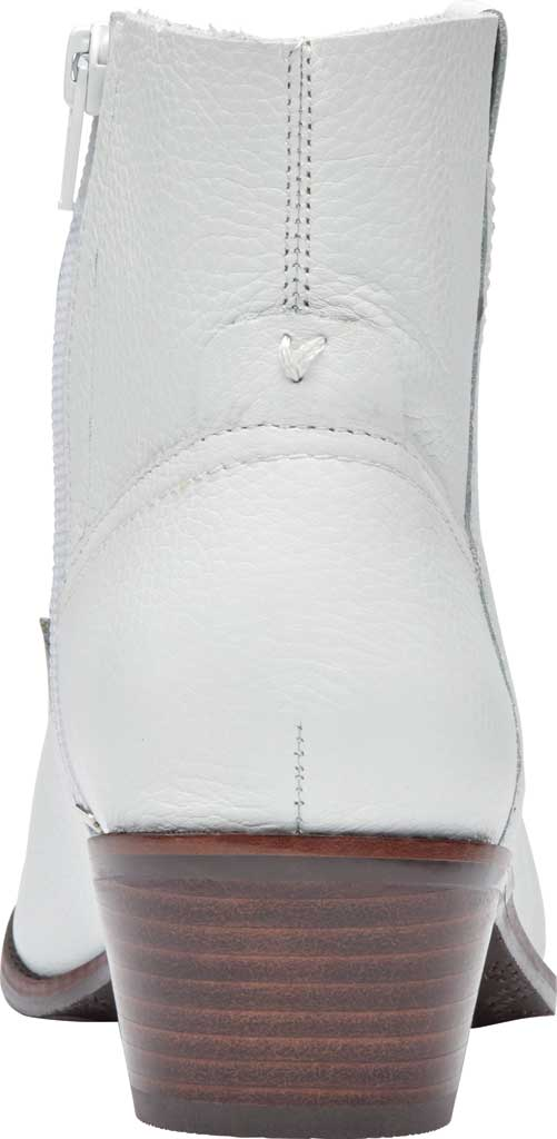 Women's Vionic Roselyn Ankle Boot, Tumbled White Leather, large, image 4