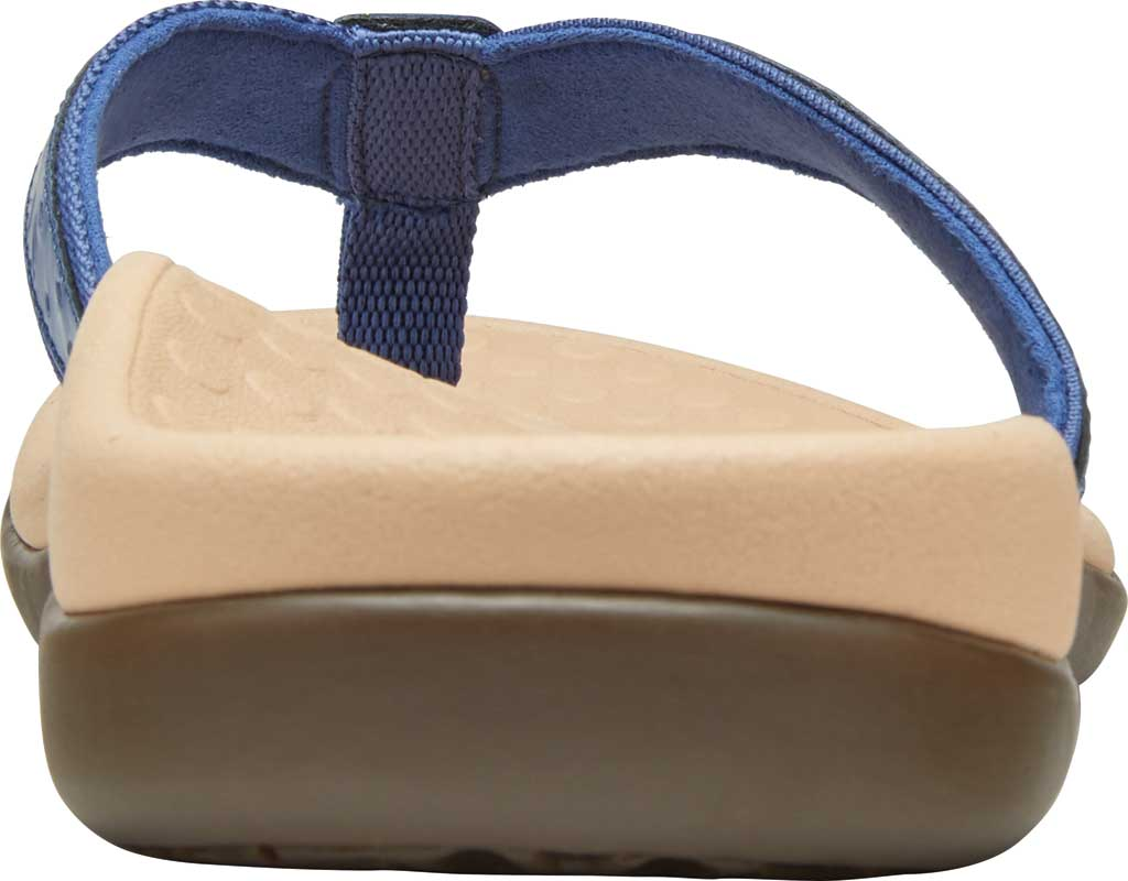 Women's Vionic Casandra Thong Sandal, Indigo Leather, large, image 4