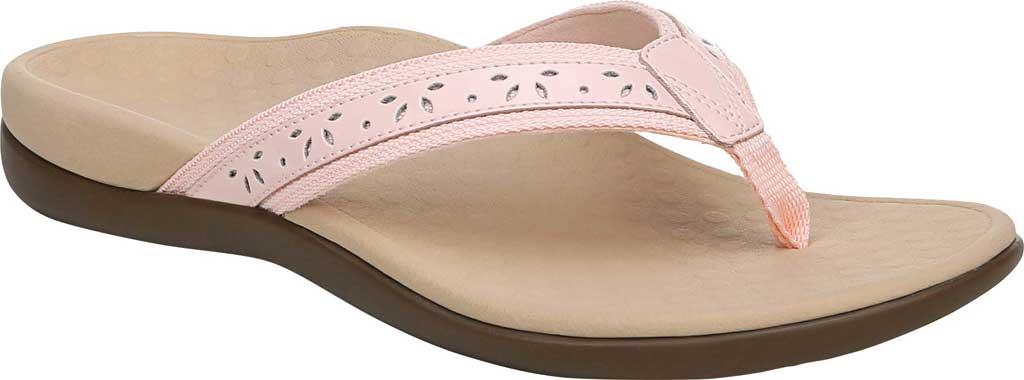 Women's Vionic Casandra Thong Sandal, Pale Blush Leather, large, image 1