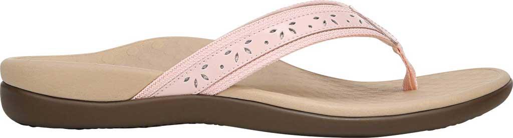 Women's Vionic Casandra Thong Sandal, Pale Blush Leather, large, image 2