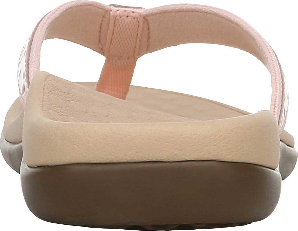 Women's Vionic Casandra Thong Sandal, Pale Blush Leather, large, image 4