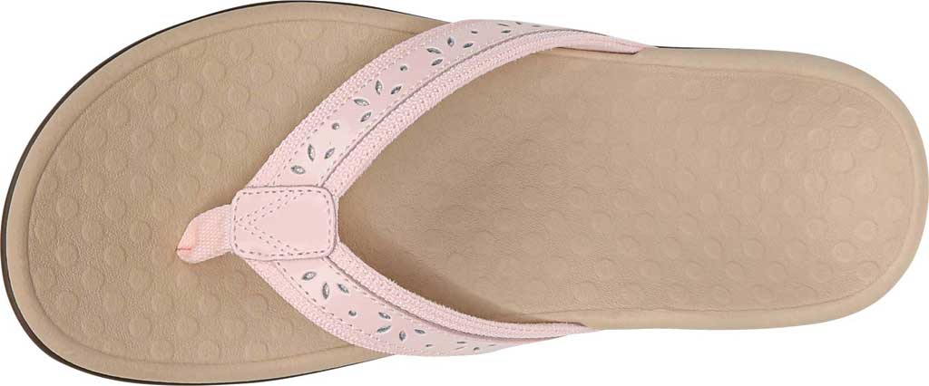 Women's Vionic Casandra Thong Sandal, Pale Blush Leather, large, image 5