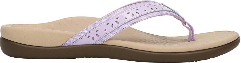 Women's Vionic Casandra Thong Sandal, Pastel Lilac Leather, large, image 2