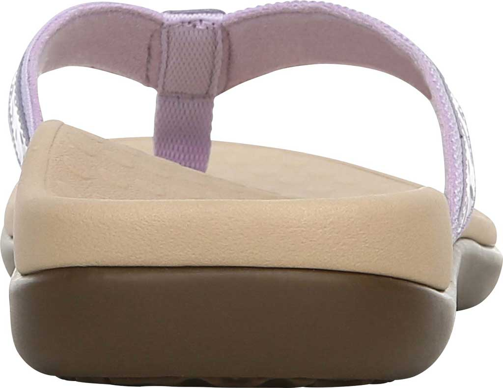 Women's Vionic Casandra Thong Sandal, Pastel Lilac Leather, large, image 4