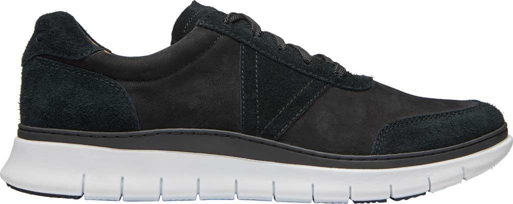 Men's Vionic Tanner Sneaker, Black Nubuck, large, image 2