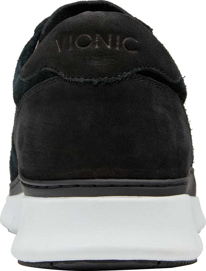 Men's Vionic Tanner Sneaker, Black Nubuck, large, image 4