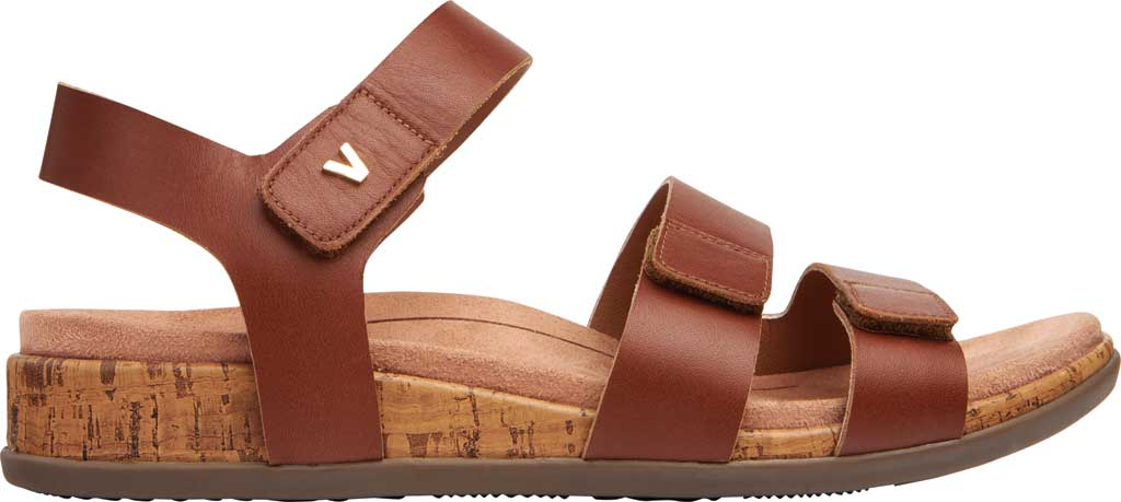 Women's Vionic Colleen Strappy Sandal, Cinnamon Leather, large, image 2