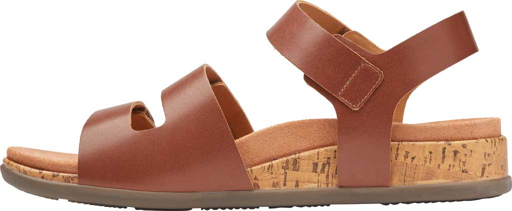 Women's Vionic Colleen Strappy Sandal, Cinnamon Leather, large, image 3