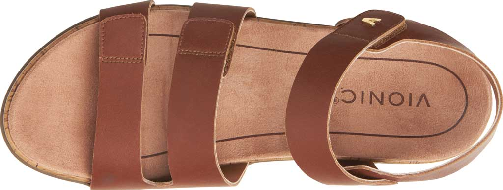 Women's Vionic Colleen Strappy Sandal, Cinnamon Leather, large, image 5