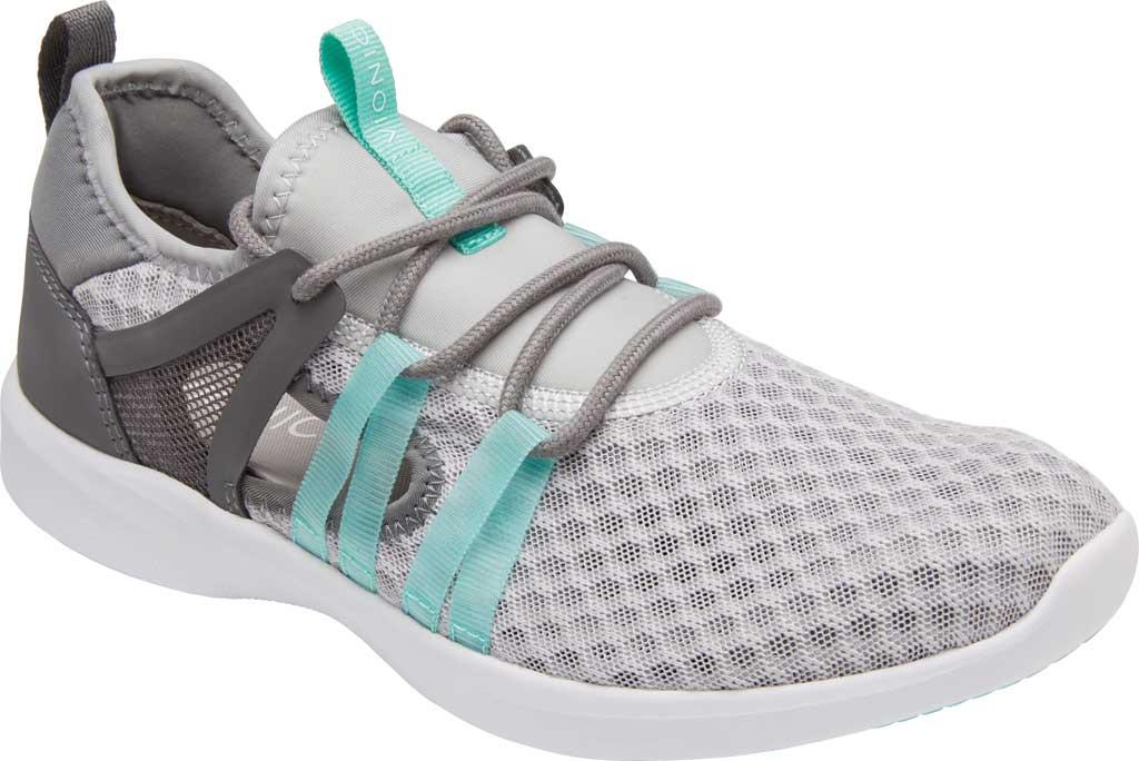 Women's Vionic Adore Sneaker, Grey Textile, large, image 1