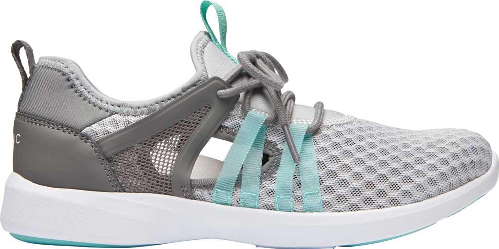 Women's Vionic Adore Sneaker, Grey Textile, large, image 2
