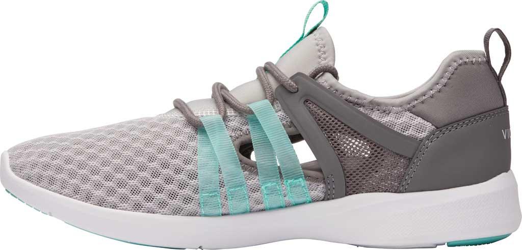 Women's Vionic Adore Sneaker, Grey Textile, large, image 3