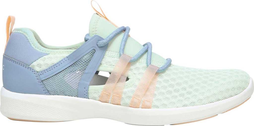 Women's Vionic Adore Sneaker, Seafoam Mesh Fabric, large, image 2