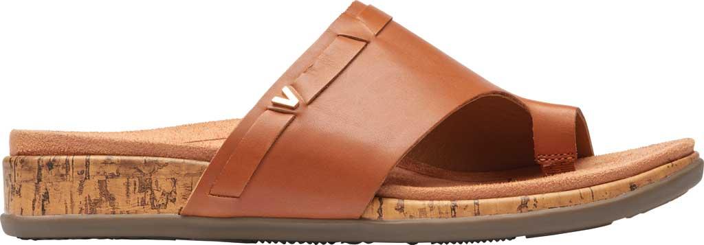 Women's Vionic Cindy Toe Loop Sandal, Tan Leather, large, image 2