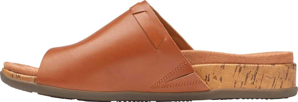 Women's Vionic Cindy Toe Loop Sandal, Tan Leather, large, image 3