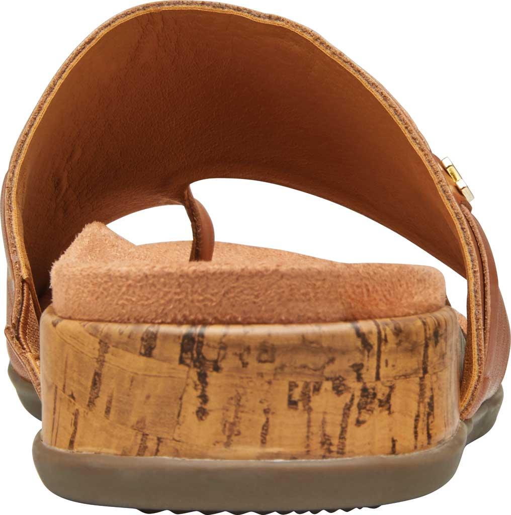 Women's Vionic Cindy Toe Loop Sandal, Tan Leather, large, image 4