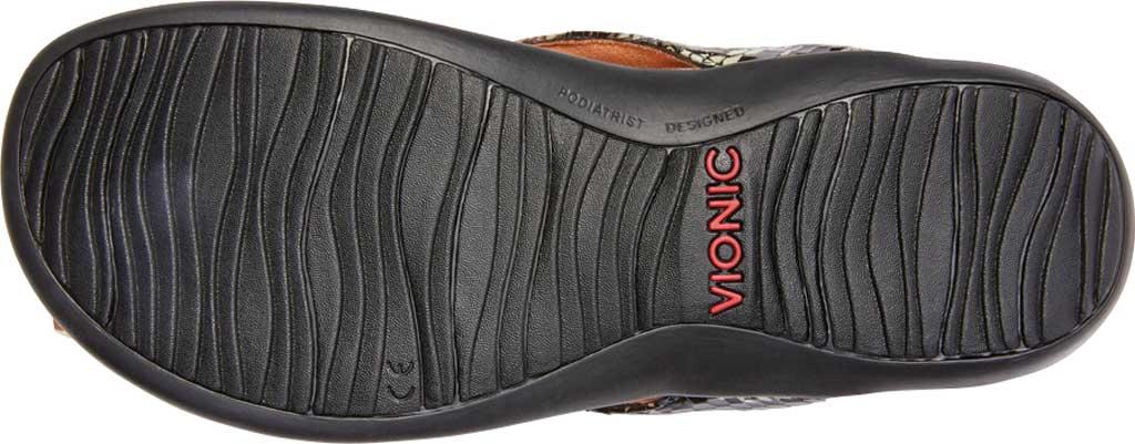 Women's Vionic Dillon Thong Sandal, Black Boa Leather, large, image 6
