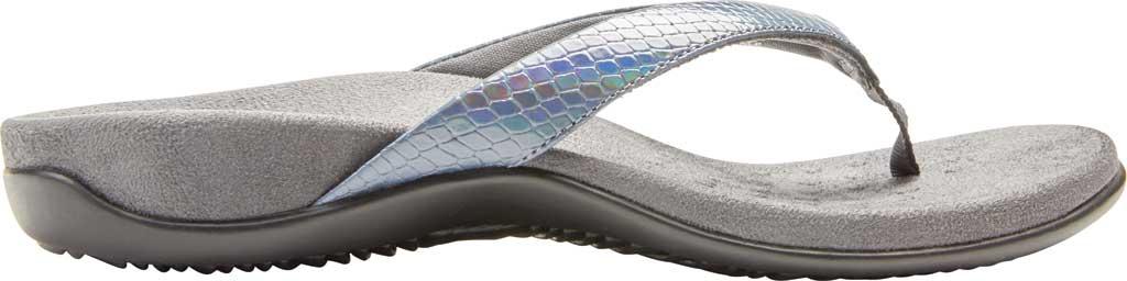 Women's Vionic Dillon Thong Sandal, Iridescent Snake Leather, large, image 2