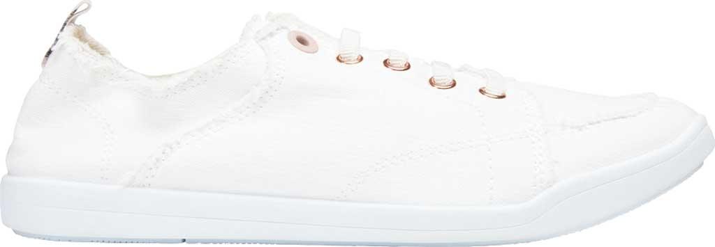 Women's Vionic Pismo Sneaker, Cream Eco-Friendly Cotton, large, image 2