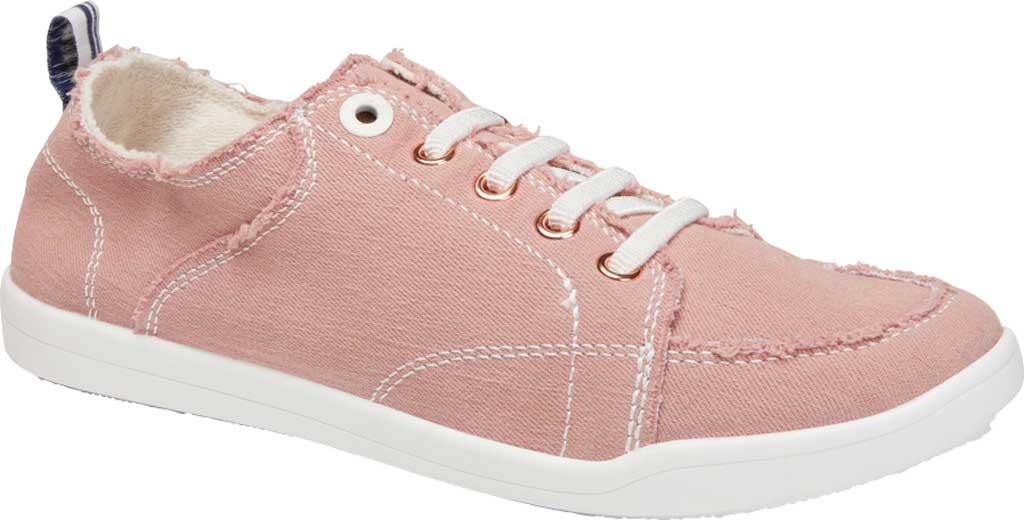 Women's Vionic Pismo Sneaker, Dusty Rose Eco-Friendly Cotton, large, image 1
