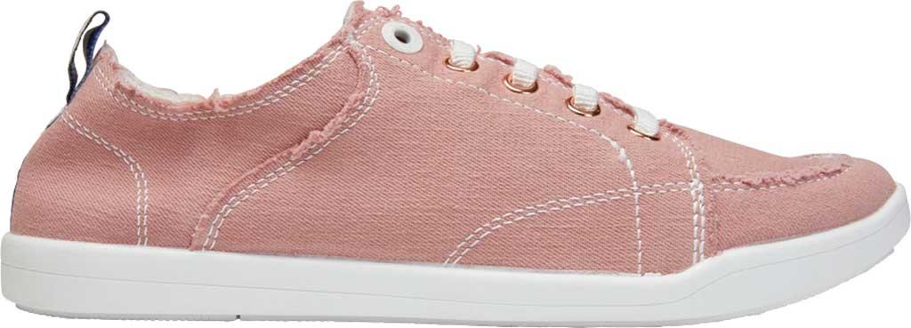 Women's Vionic Pismo Sneaker, Dusty Rose Eco-Friendly Cotton, large, image 2