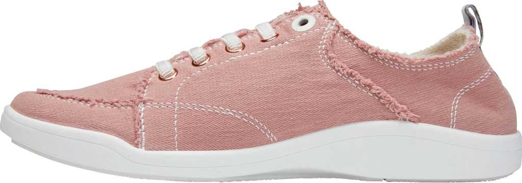 Women's Vionic Pismo Sneaker, Dusty Rose Eco-Friendly Cotton, large, image 3