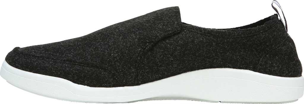 Women's Vionic Malibu Slip On Sneaker, Black Jersey, large, image 3