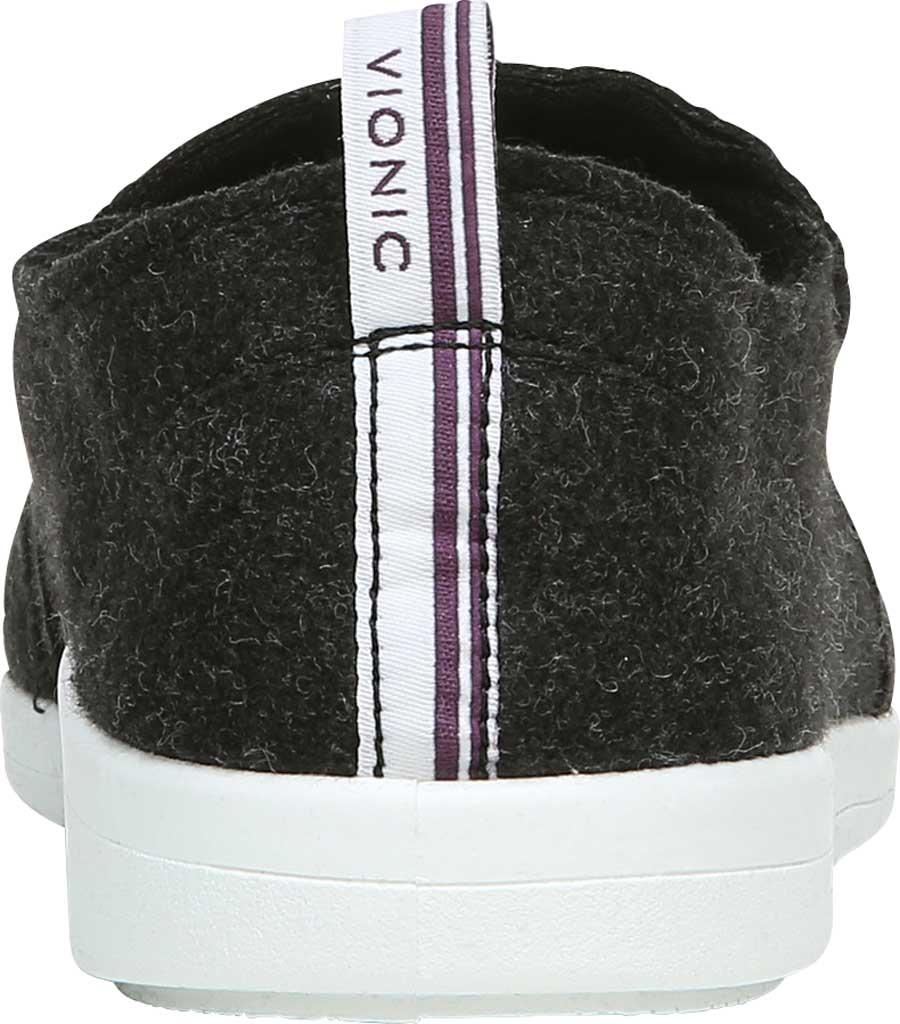 Women's Vionic Malibu Slip On Sneaker, Black Jersey, large, image 4