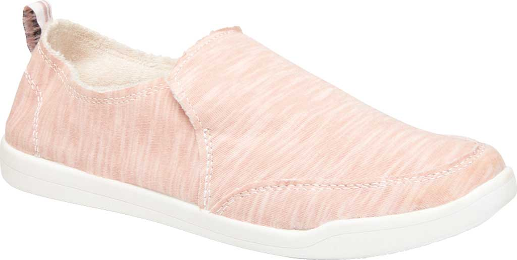Women's Vionic Malibu Slip On Sneaker, Dusty Rose Recycled Polyester/Poly Blend, large, image 1