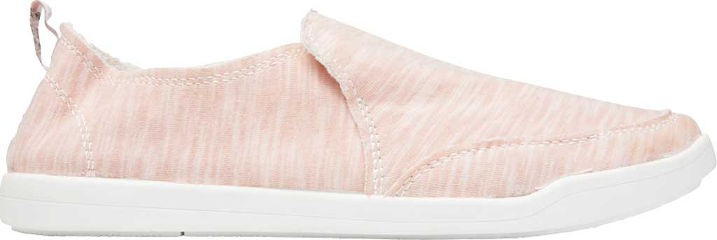 Women's Vionic Malibu Slip On Sneaker, Dusty Rose Recycled Polyester/Poly Blend, large, image 2