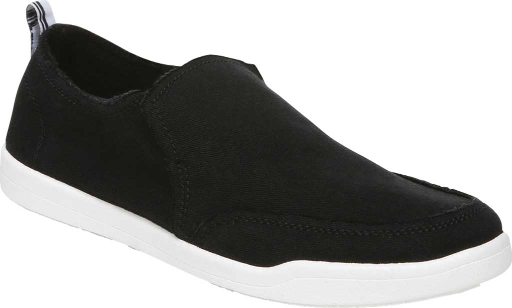 Women's Vionic Malibu Slip On Sneaker, Black Eco Canvas, large, image 1
