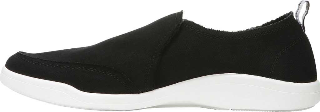Women's Vionic Malibu Slip On Sneaker, Black Eco Canvas, large, image 3