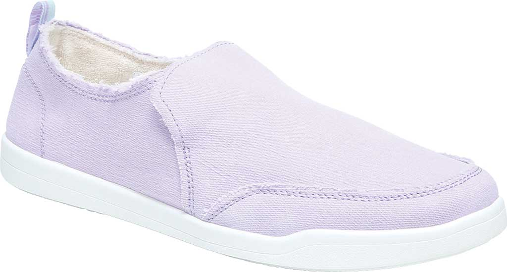 Women's Vionic Malibu Slip On Sneaker, Pastel Lilac Eco Canvas, large, image 1