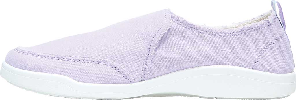Women's Vionic Malibu Slip On Sneaker, Pastel Lilac Eco Canvas, large, image 3